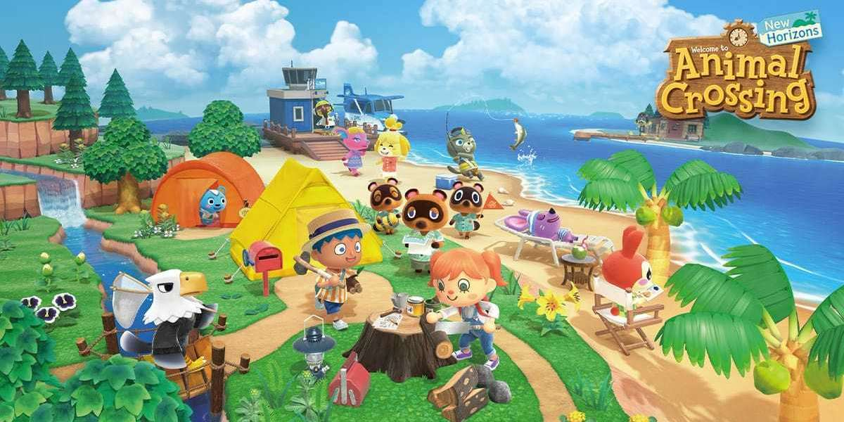 How do players choose the Animal Crossing: New Horizons island layout